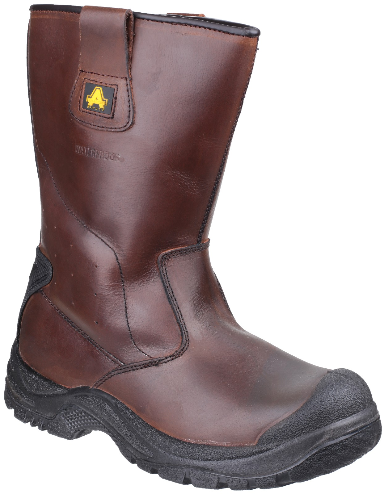 0b3f6a6dd8c Amblers Safety AS249 Cadair Waterproof S3 Pull on Rigger Boot