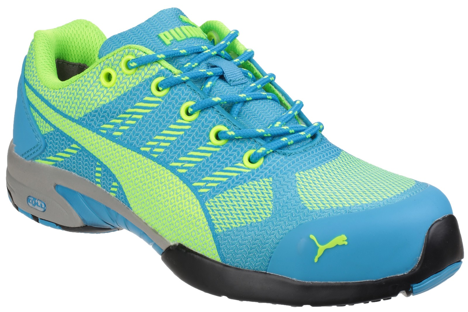 13d73dee3a1e Puma Safety Celerity Knit Blue Ladies Safety Trainer