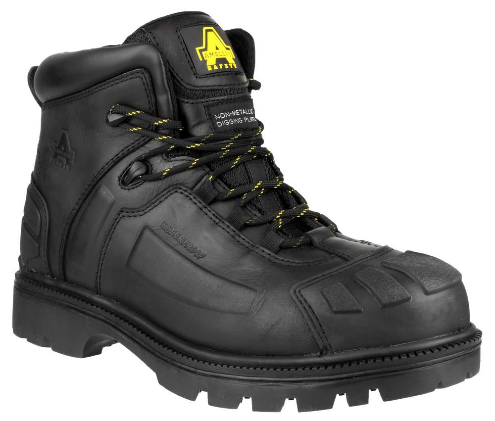 Amblers Safety FS996 Metal Free Waterproof composite Digging Safety Boot