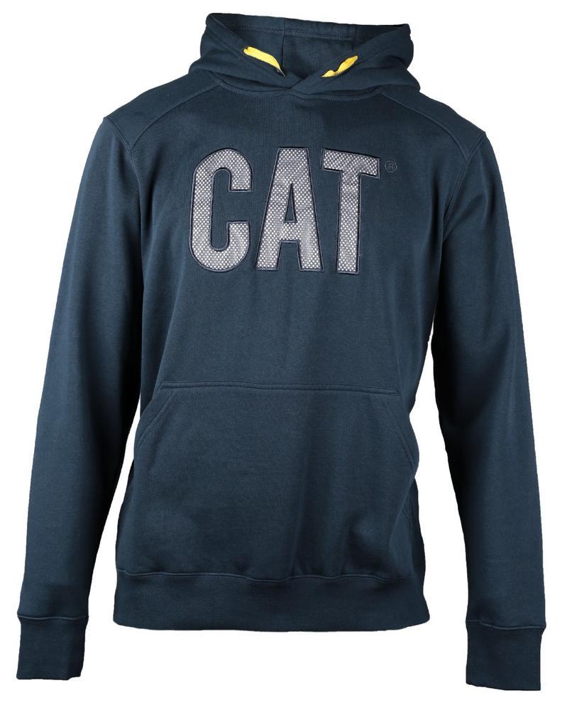 Caterpillar 1910001 Flash Hoodie Polyester Reflective Logo Work Sweater