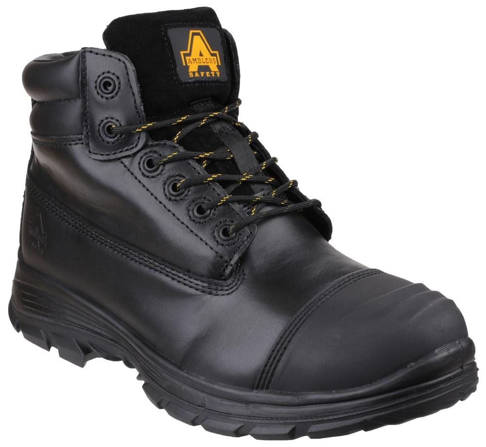 Amblers Safety FS301 Brecon Water-Resistant Metatarsal Guard Lace up Safety Boot