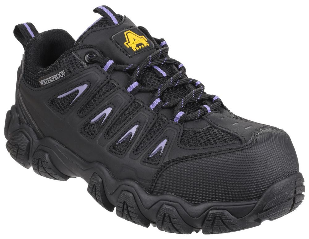 Amblers Safety AS708 Waterproof Non-Metal Composite Ladies Safety Trainer