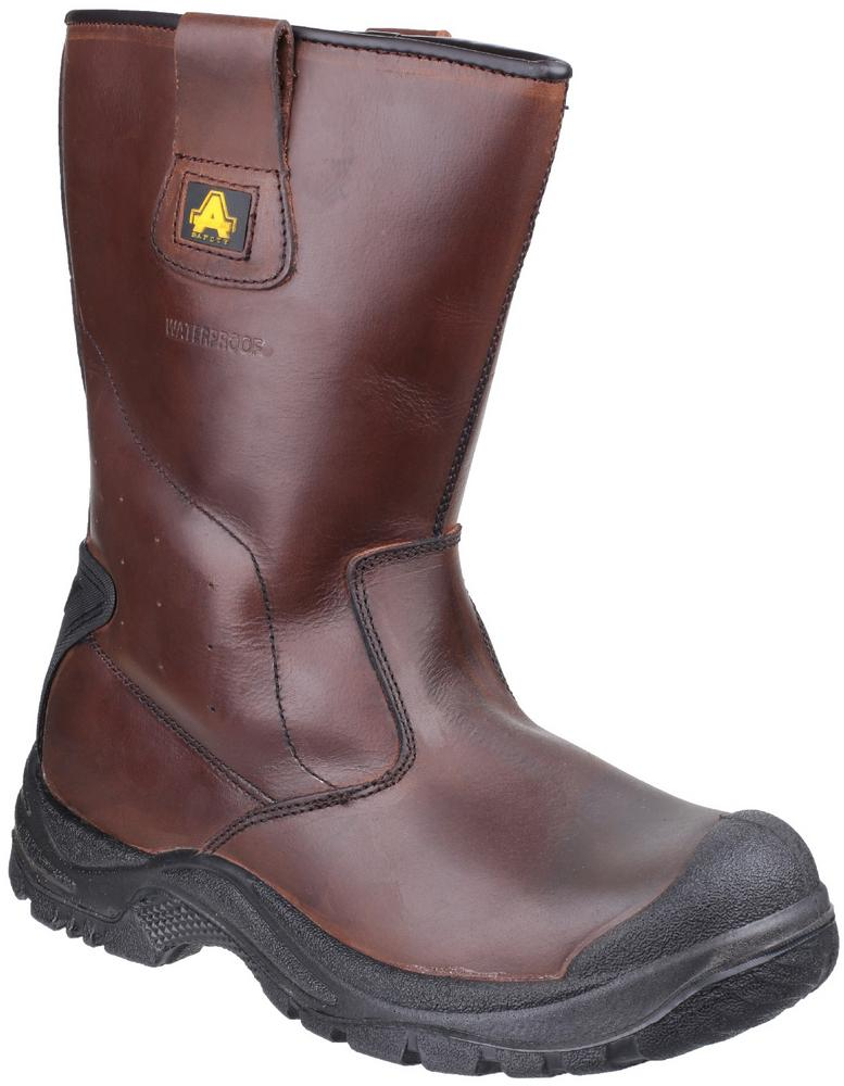 Amblers Safety AS249 Cadair Waterproof S3 Pull on Rigger Boot