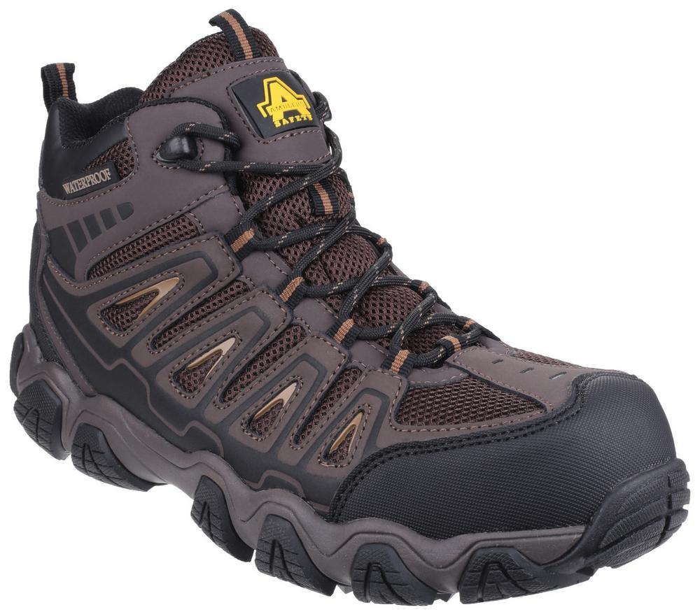 Amblers Safety AS801 Rockingham Waterproof HRO SRA Non-Metal S3 Composite Safety Hiker