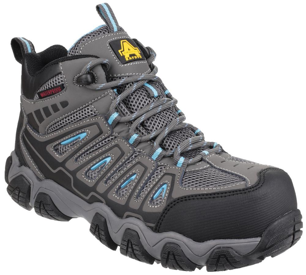 Amblers Safety AS802 Waterproof Non-Metal Composite Ladies Safety Hiker S3