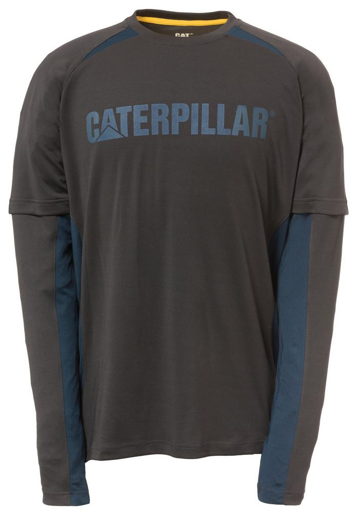 Caterpillar 1510271 Expedition T-Shirt Work Tee Polyester Black