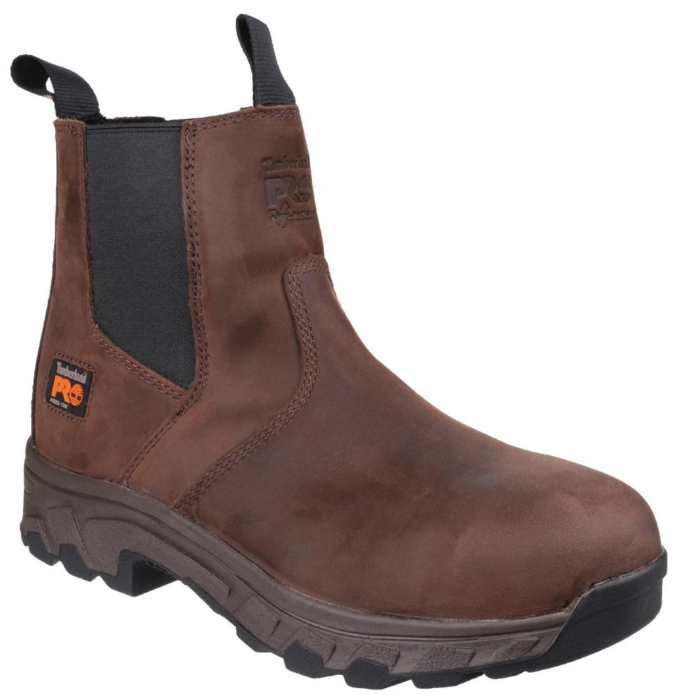 Timberland Pro Workwear Workstead Water Resistant Pull on Dealer Safety Boot