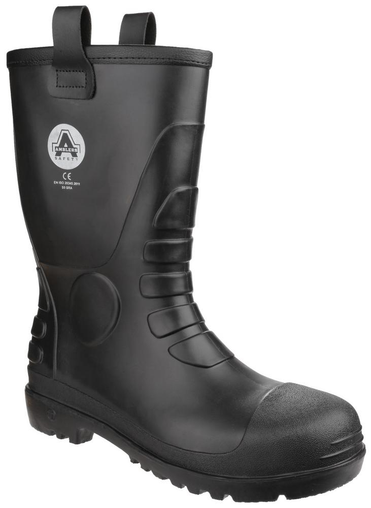Amblers Safety FS90 Waterproof PVC Pull on Safety Rigger Boot