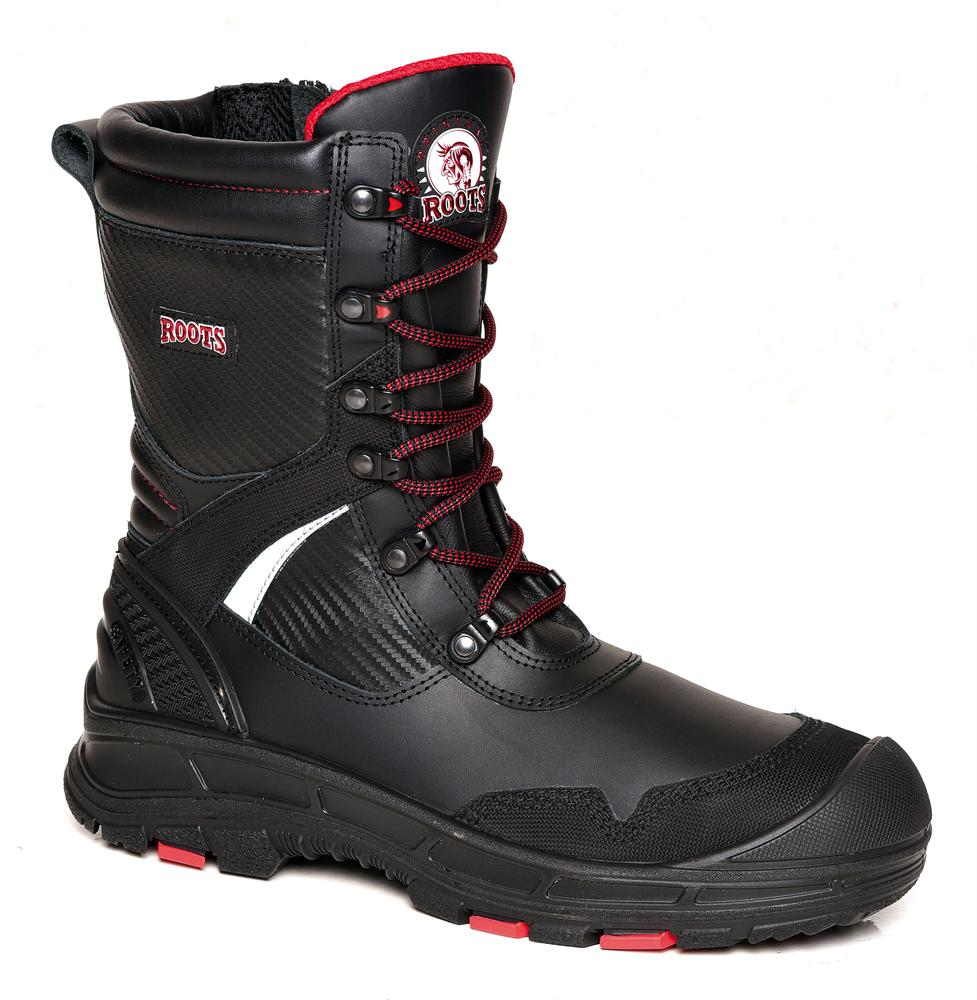 Roots Iowa Ro60303 Lace Up Side Zip S3 HRO SRC Safety Boot 9