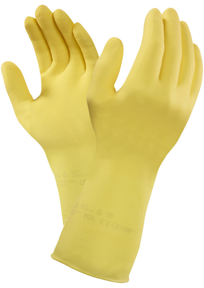 Marigold G43Y 320mm. Triple Dipped Household Rubber Gloves Size - 9.5