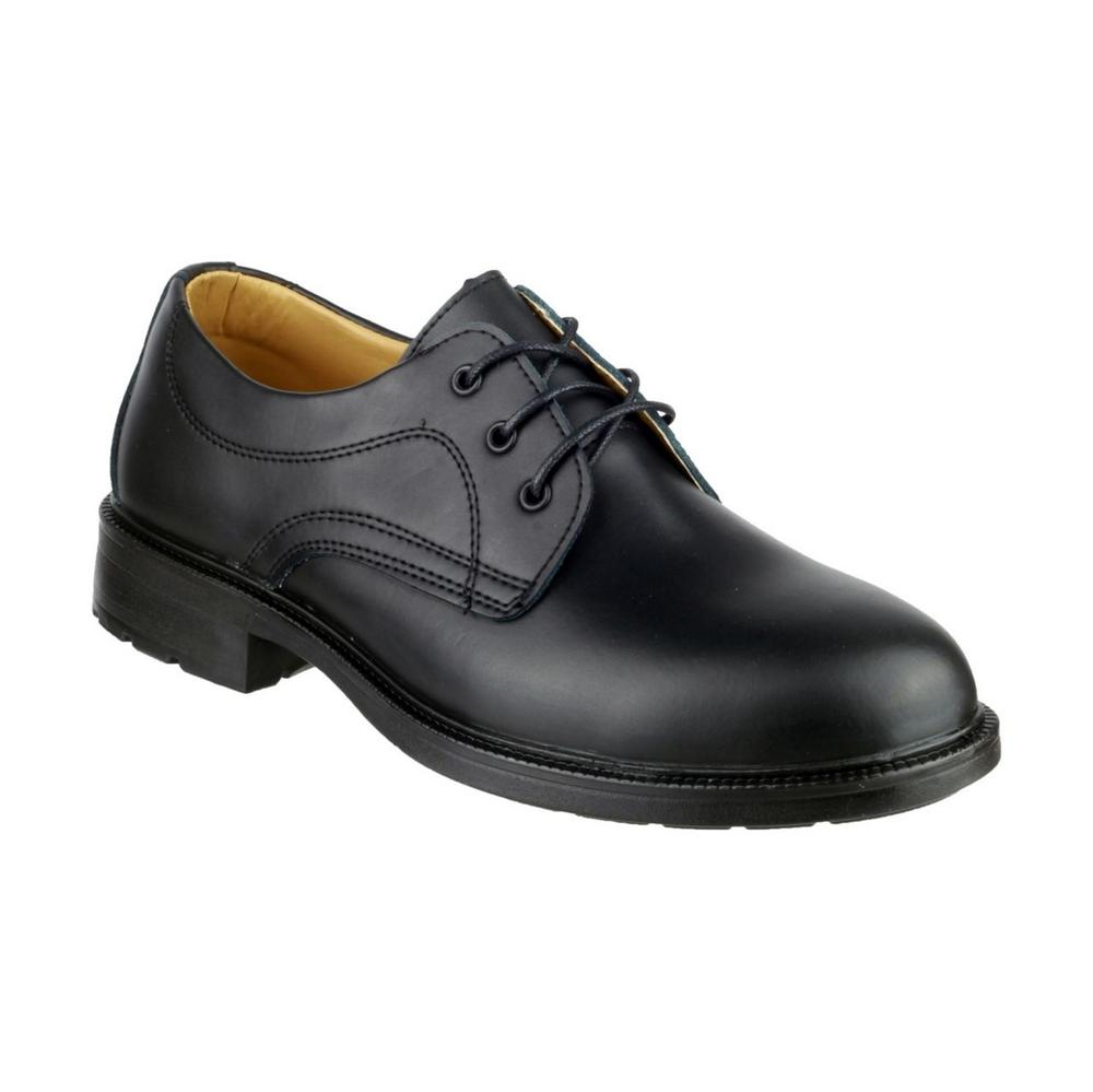 Amblers Newport Leather Men's Formal Shoes - Black