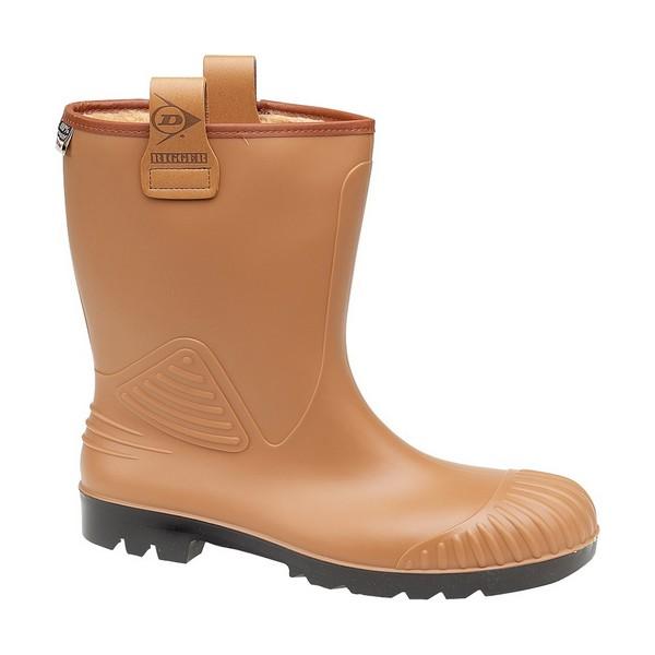 Dunlop Rigger Acifort A442713FL Rigger Boots Steel Toe Cap & Midsole, Size - UK10