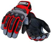 Ansell 97-975 Projex Series Heavy Duty Impact Gloves - Red