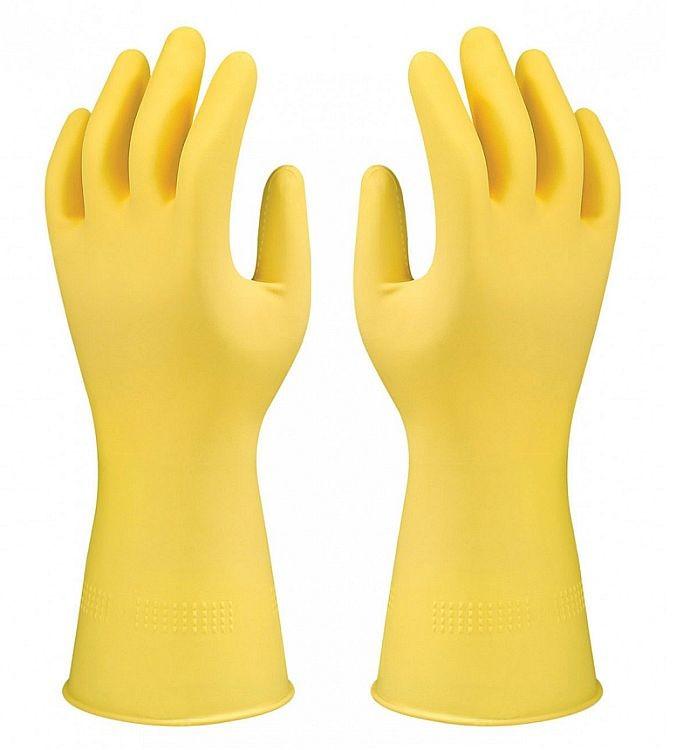 Ansell Marigold G04Y Suregrip Rubber Glove Yellow