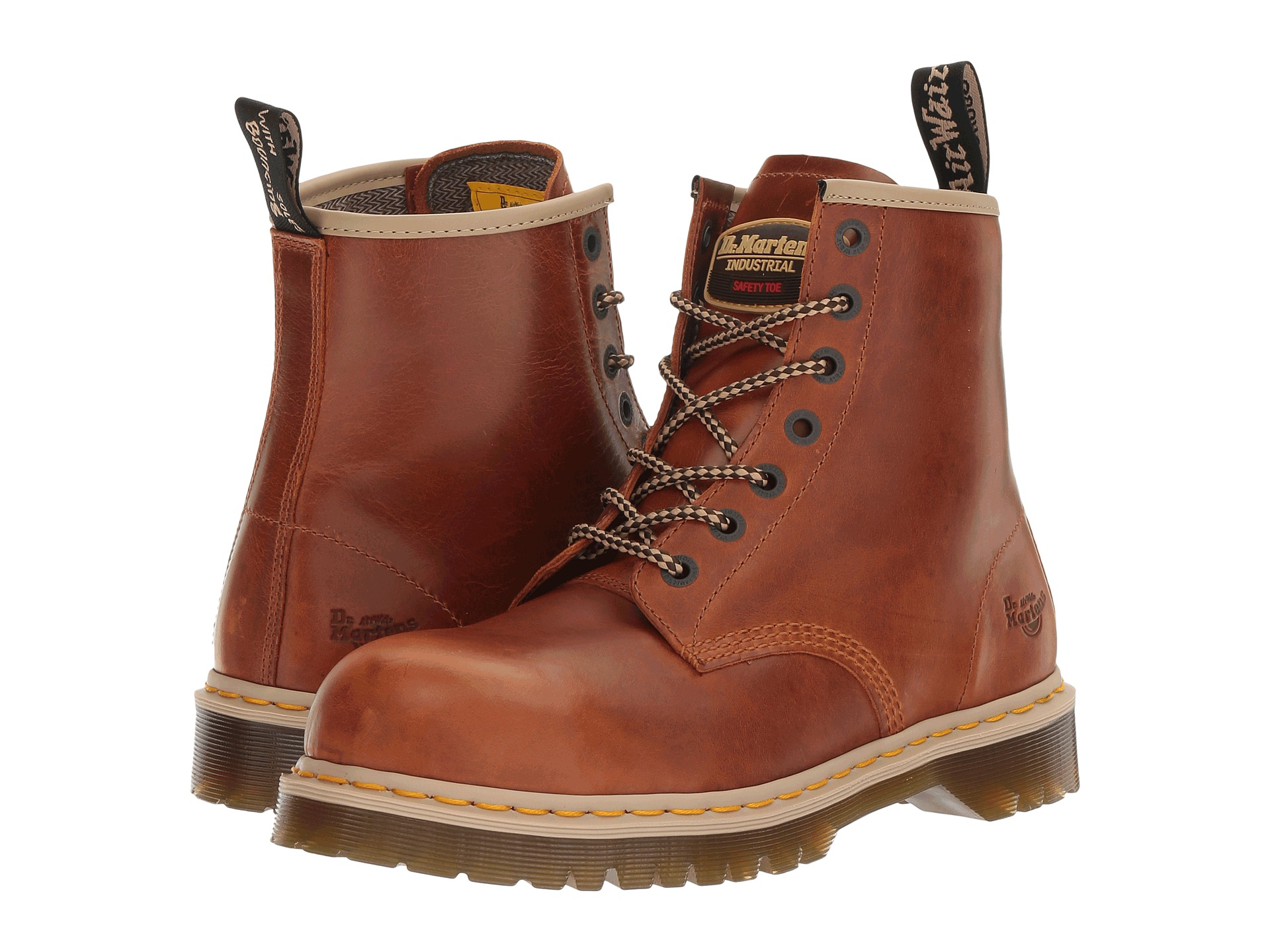 e99b7605ba9 Dr Martens Icon 7B10 SSF Z-Welt Tan Safety Boot