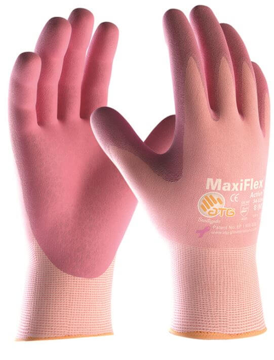 ATG MaxiFlex Active Palm Coated 34-814 Gloves