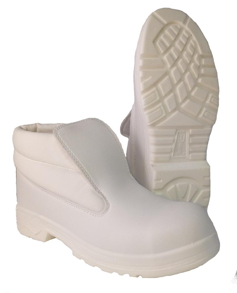 Beeswift Beaver Click Slip-On Antistatic White Safety Chukka Boot