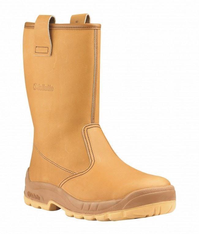 Jallatte Jalaska J0266 Steel Toe Cap Leather Men Work Safety Rigger Boots