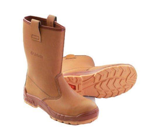 bfa37f6bee2 Jallatte Jalaska J0266 Steel Toe Cap Leather Men Work Safety Rigger Boots