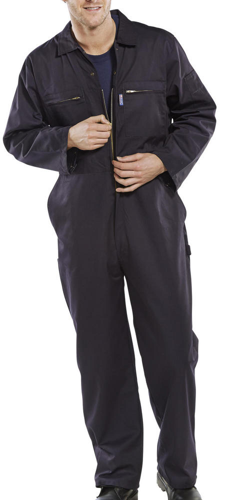 Beeswift Zip Front Polycotton Coverall PCBSHW