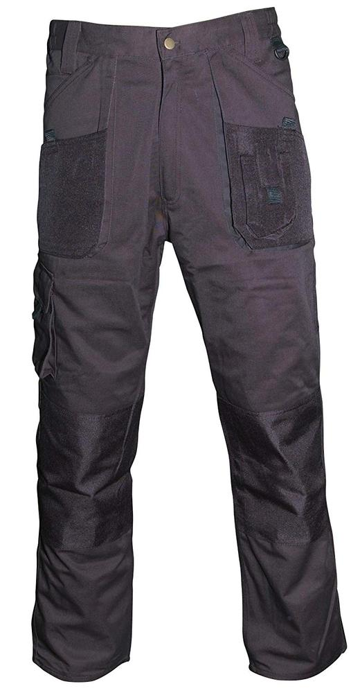 Blackrock Baratec Workman Knee Pad Pockets Stain Resistant Trousers Black