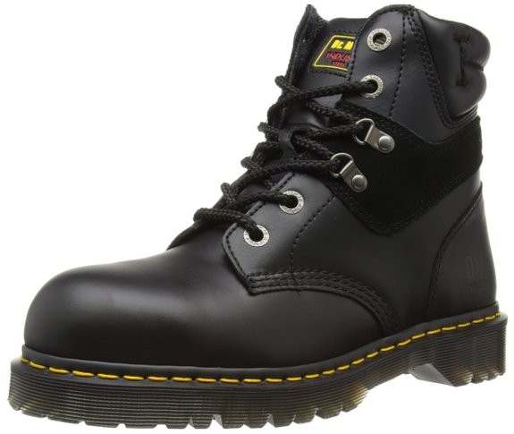 Dr Martens Icon 6617 Steel Toe Cap Ankle Safety Boot - Black