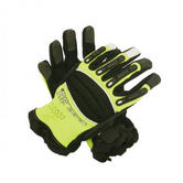 Shelby 2500 Durable and Lightweight Extraction & Rescue Gloves Black\Yellow