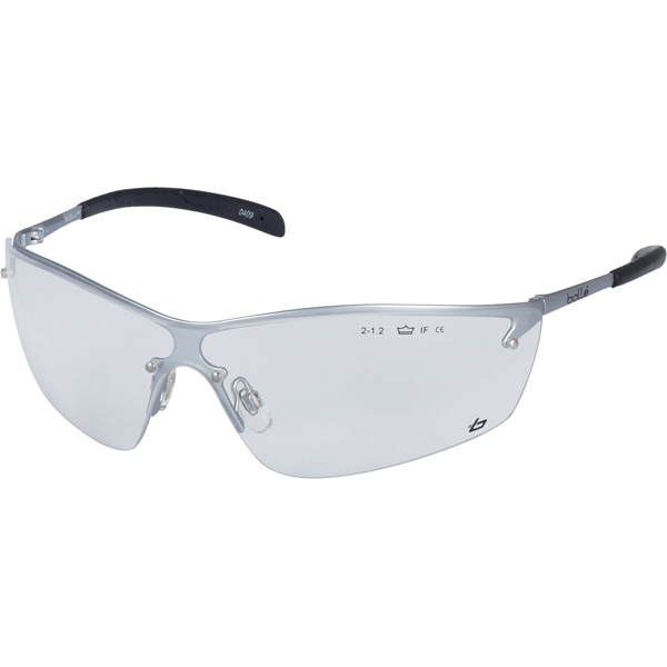 Bolle Silium Silpsi Safety Glasses Glasses Anti Mist Clear Lens (Pack of 5)