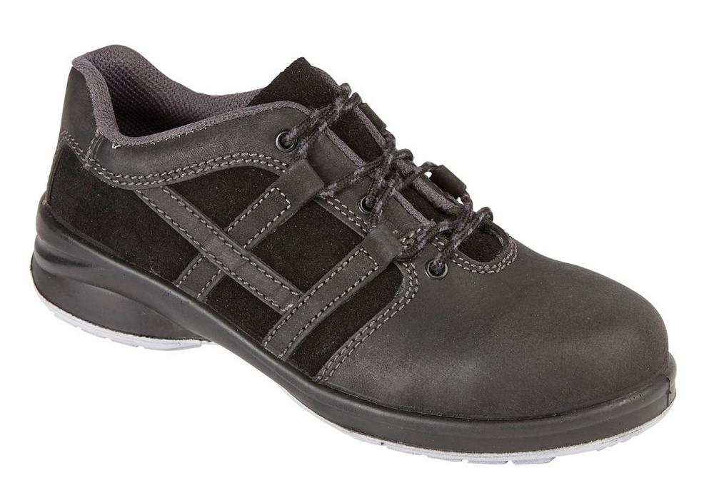 Himalayan Womens Black Star Trainer with Penetration Resistance Midsole