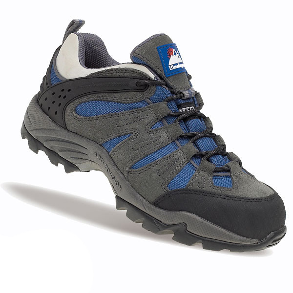 Himalayan Womens Dark Grey Trainer with Metal Free Cap and Midsole with Gravity Sole