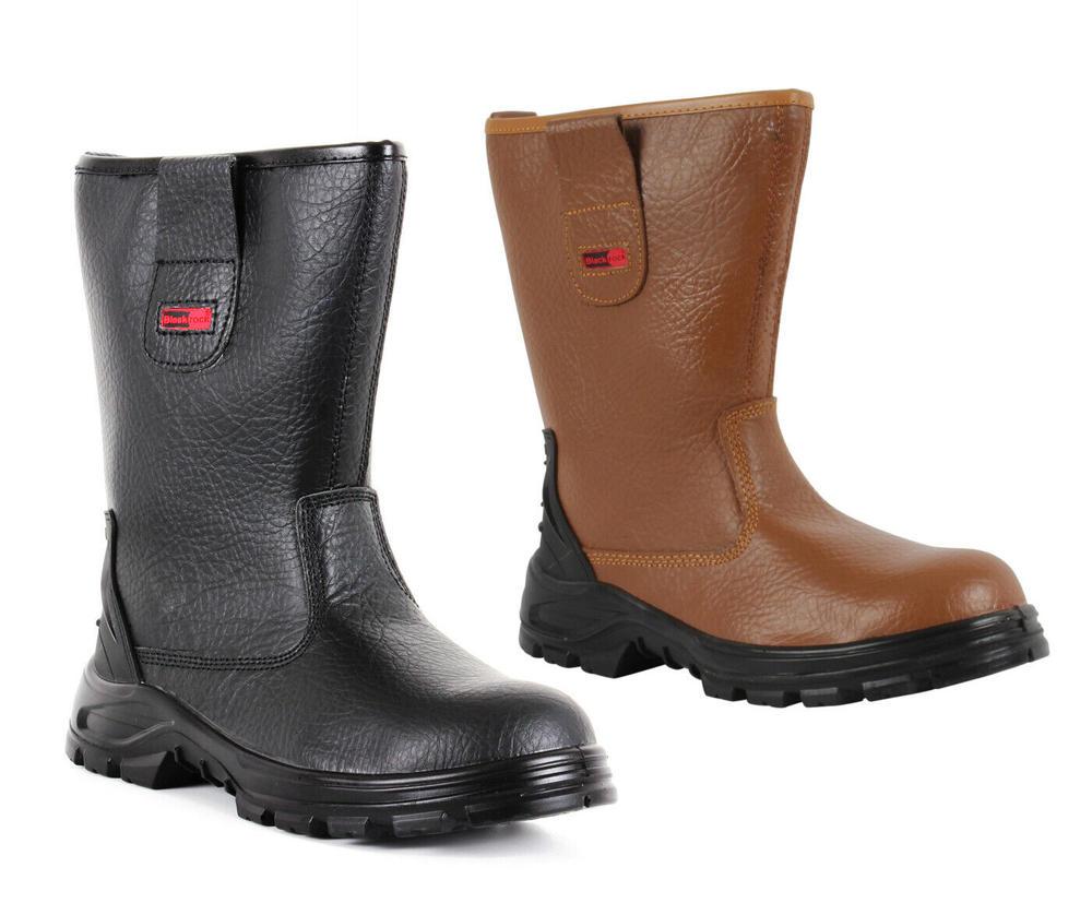 Blackrock Fur Lined SB-P Waterproof Rigger Boot SF01 - Tan or Black