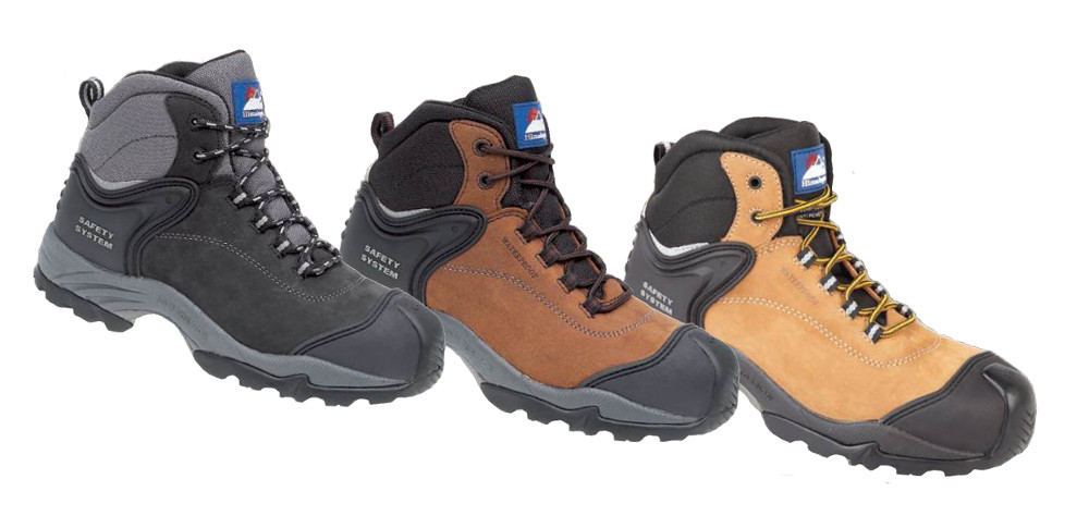 Himalayan Nubuck Fully Waterproof Boot Metal Free Cap\Midsole Gravity Sole