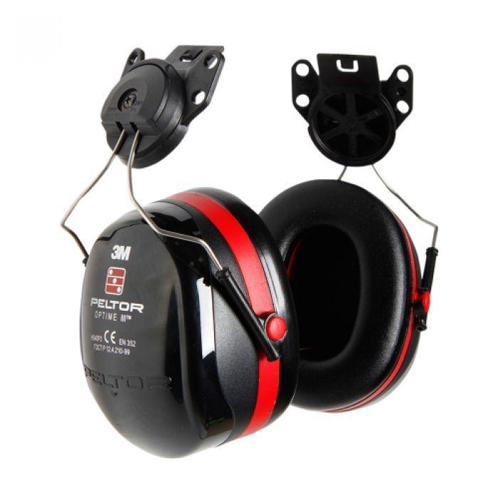 3M Peltor H540P3E Optime III Helmet Mounted Attachment Earmuffs Ear Defenders