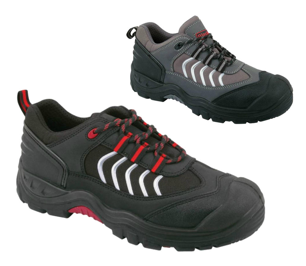 Blackrock Fusion Nubuck Safety Trainers Steel Toe Cap Sole S1-P