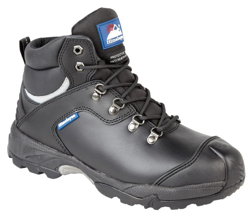 Himalayan Black Gravity Boot Steel Cap/Midsole Gravity Outsole