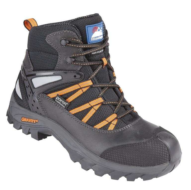 "Himalayan Black Gravity TRXII ""Poron"" Waterproof Boot with Metal Free Cap/Midsole & Gravity Sole"