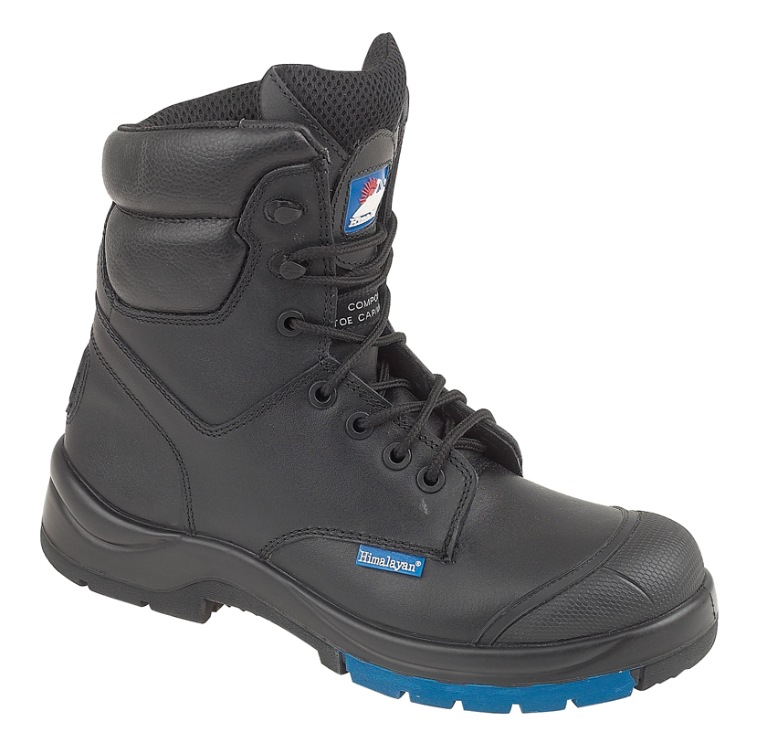Himalayan Combat Safety Boot with Metal Free Toe/Midsole PU/Rubber Outsole.