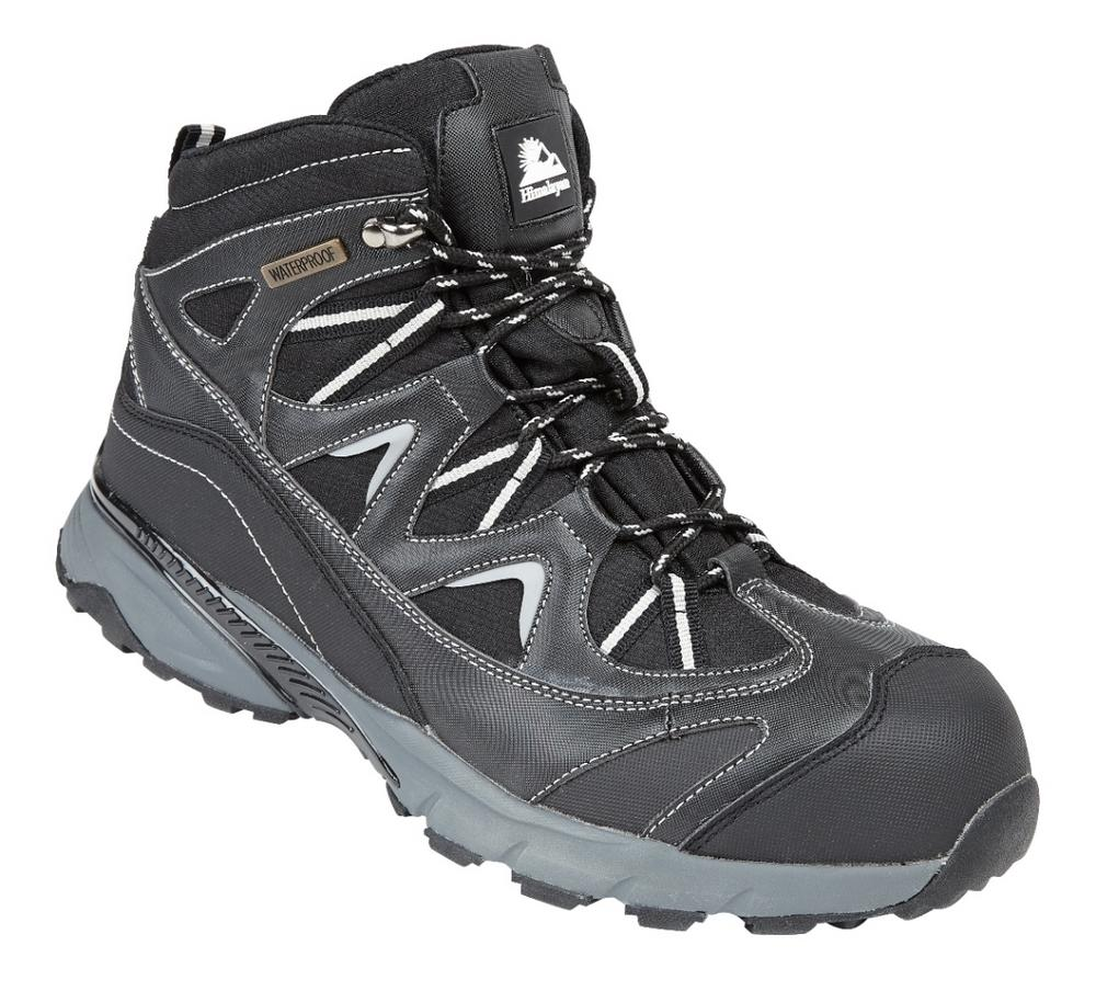 Himalayan Black Waterproof Safety Hiker Boot S3 EVA Rubber Sole