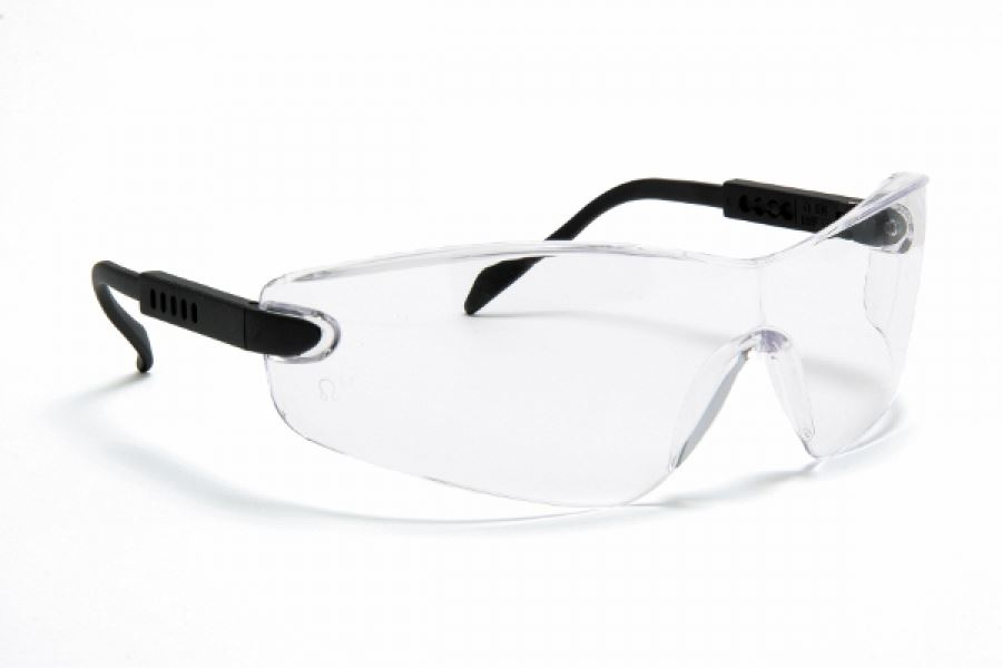 Blackrock Safety Glasses Spectacles with Arm Adjustment Clear Lens
