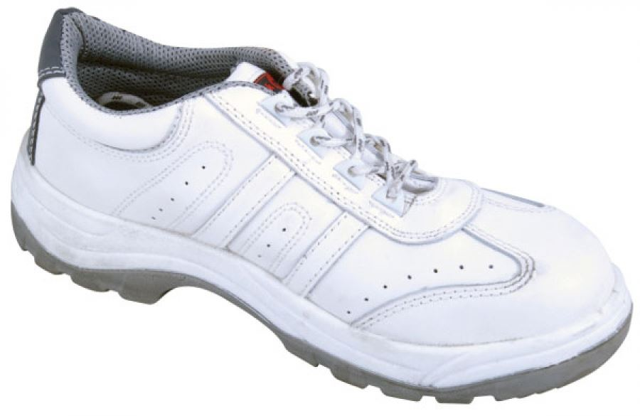 Blackrock SF30 Painter's Trainer Steel Toe Cap And Midsole White