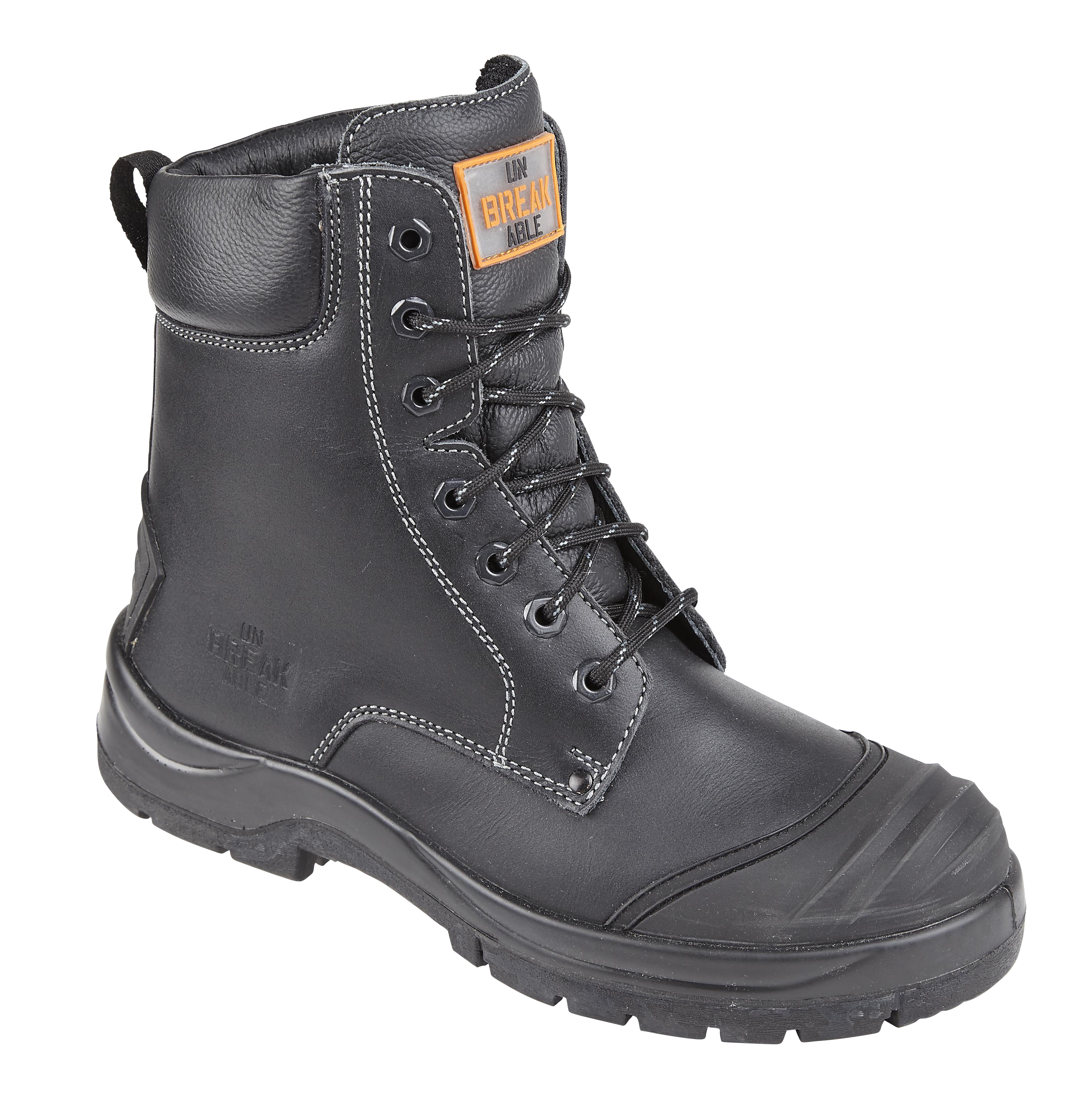 dda6fcded517 Unbreakable DEMOLITION Combat Safety Boot with Rhino ridge bump cap   kick  plate