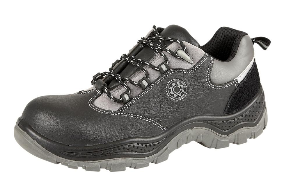 SecurityLine PUNTO Black Metal Free Cap/Midsole Safety Shoe
