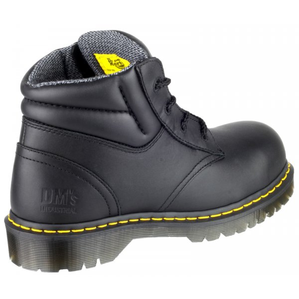 ea3cdf9aa1d08 Icon Black Leather\ Suede Safety Boot with SAF Sole