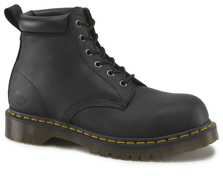Dr Martens Forge ST S3 PVC Sole Black 6 Eye Boot