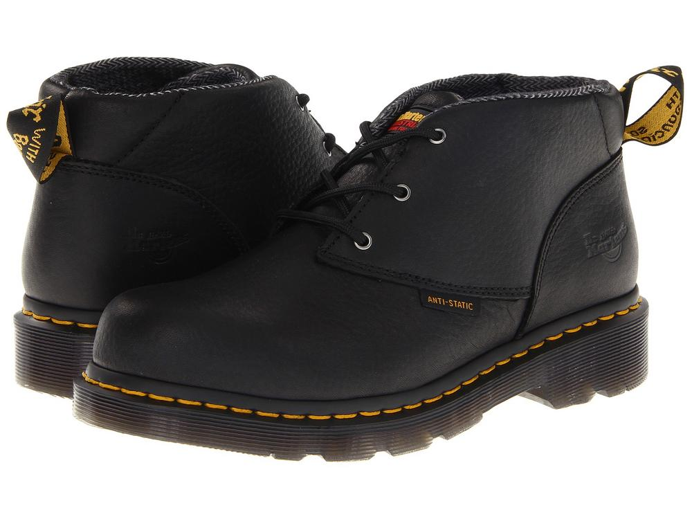 Dr Martens Izzy ST Black 3 Eye Boot S1 PVC Sole