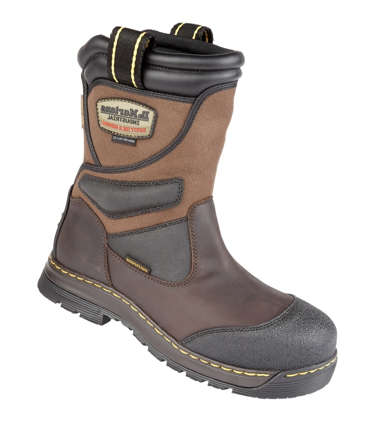 6b213ba5795 Dr Martens Gaucho Turbine ST Waterproof Safety Rigger Boot