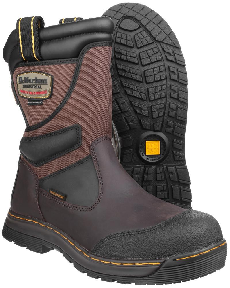 V12 Safety Boots >> Dr Martens Turbine ST Waterproof Safety Rigger Boot