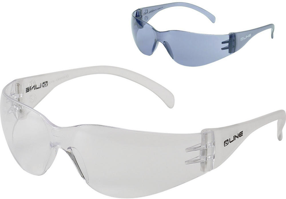 Bolle BL10 B-Line Safety Glasses Anti-scratch Clear or Smoke