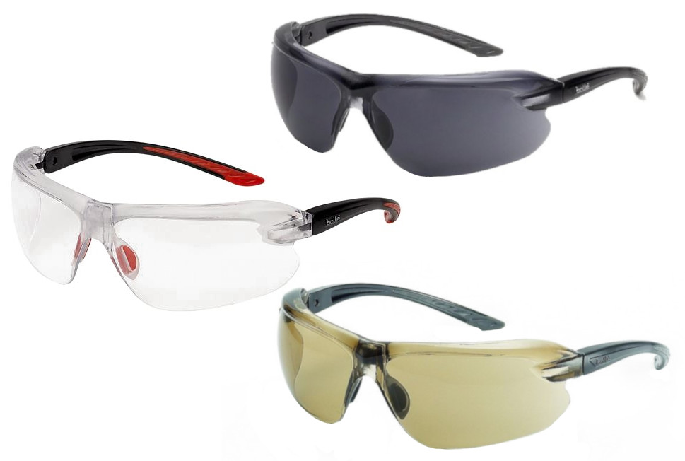 Bolle Non Slip & Ergonomic Platinum Coating IRI-S Safety Glasses