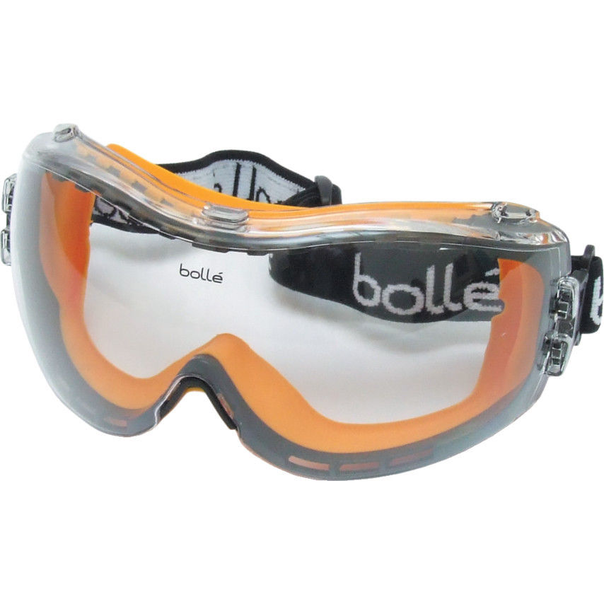 Bolle Pilot Safety Goggle - Clear
